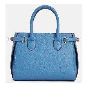 NWOT JustFab Blue Minimalist Purse Bag